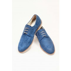 Vegan Buck Shoes P26-5723-BLUE-V